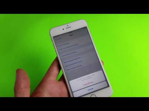 All iPhones: How Reset Back to Factory Original Settings without iTune or Computer
