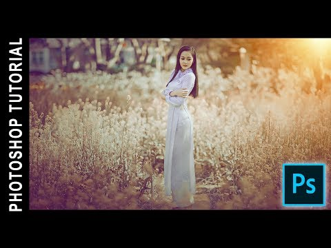 Photoshop Tutorial | Soft Light Vintage Look in Photoshop