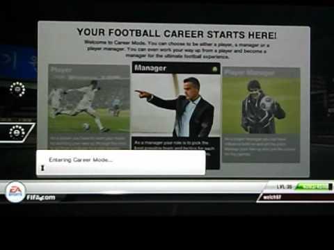 FIFA 12 Career Mode||You Choose The Team
