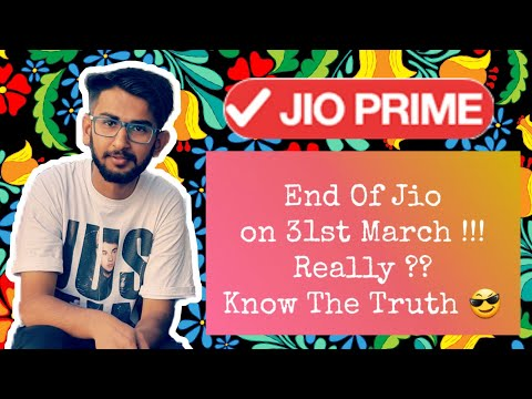 Ending Of Jio On 31st March !!! Really ? Know The Truth .. 😎