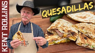 Grilled Quesadillas | Steak and Chicken Quesadillas