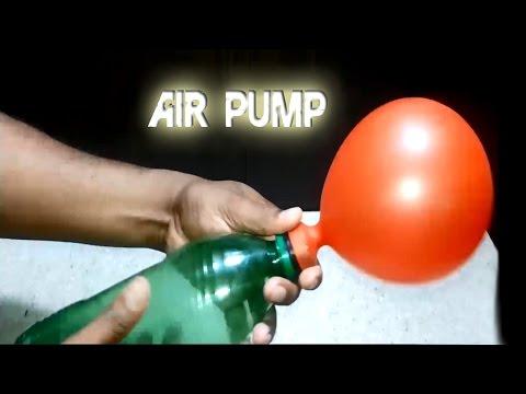 How to Make an Air Pump using Bottle l MrSaaf Ultimate Hacks