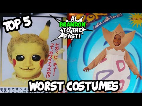 Top 5 WORST Pokemon Costumes To Wear On Halloween