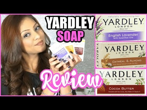YARDLEY SOAPS REVIEW! │ BAR SOAPS FOR SENSITIVE SKIN & ECZEMA! │MY HONEST REVIEW - HIT OR MISS?!