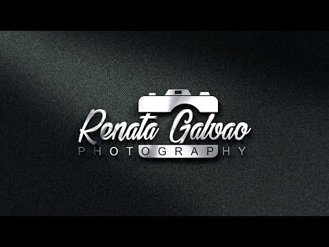 How to Quickly Design your own Photography Logo - Photoshop CC Tutorial