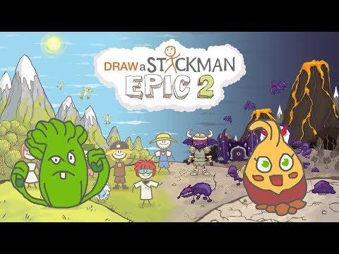 PLANTS VS ZOMBIES Draw a Stickman Epic 2 Gameplay - Bonk Choy Save Sweet Potato