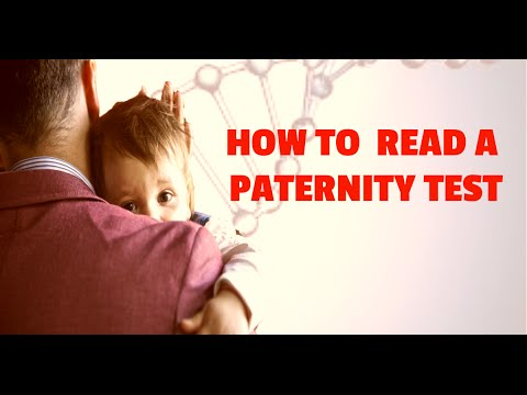 DNA Test Results, How To Read One (Paternity Test Result Report) 2018