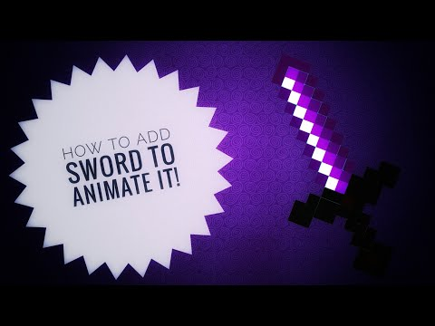 HOW to add your own sword to Animate it!