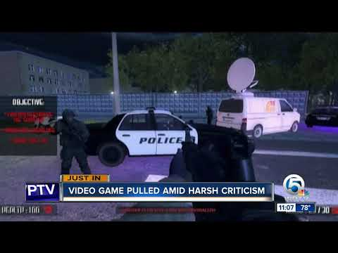 Video game pulled amid harsh criticism