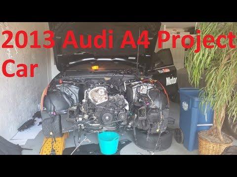 Part 2 B8.5 A4: DIY Remove Water Pump, Intake Manifold, Fuel Injectors & Top Timing Cover