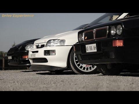 Delta vs Escort vs Celica   '90s Rally Legends - Davide Cironi Drive Experience (ENG.SUBS)