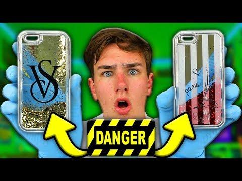 DON'T Buy A GLITTER iPhone Case (BURN WARNING)