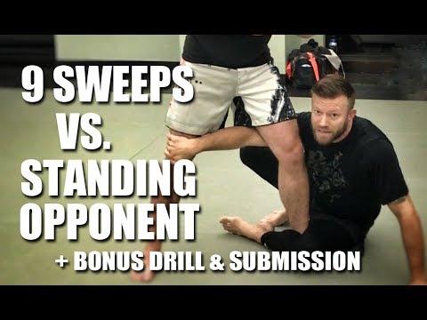 Jiu-Jitsu Techniques | 10 Answers for Ground Vs Standing