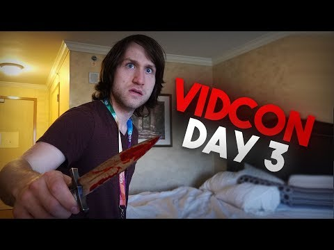 The Craziest VidCon Ever (Day 3) (ft. The Slo Mo Guys, McJuggerNuggets, and Danielle Cohn)