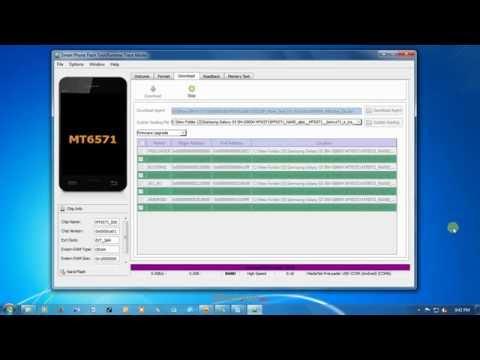 Cara Flash Samsung Replika (Clone) S5 SM G900H MT6571