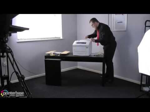 Xerox ColorQube 8580 Solid Ink Printer Unboxing