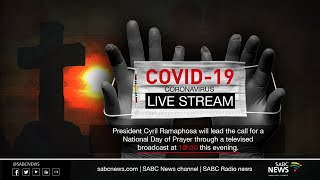 President Ramaphosa leads a call for national day of prayer