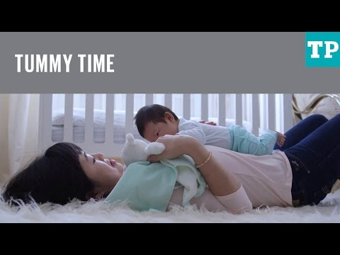 How to help your baby enjoy tummy time