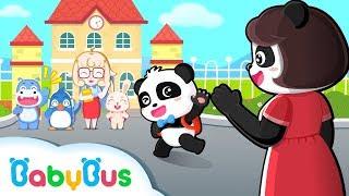 Baby Panda's Kindergarten Life | Preparation for Kindergarten | Kids Good Habits | BabyBus Cartoon