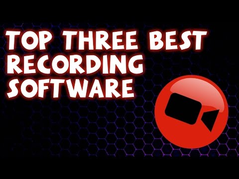 Top 3 Best FREE Screen/Game Recording Software 2018 (PC)
