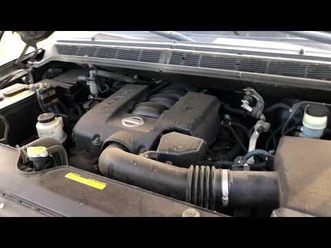 Nissan Armada  l  Titan Exhaust Manifold Header Leak!
