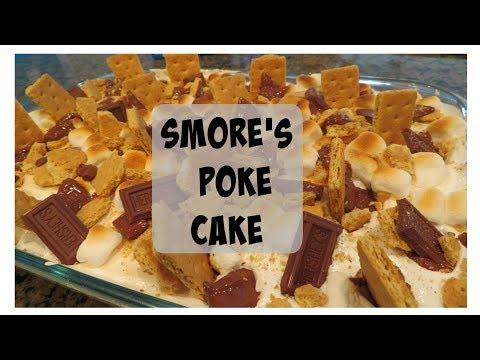 Smore's Poke Cake  | New Favorite!!