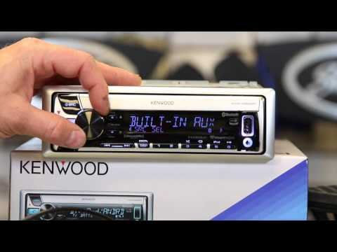 Kenwood's KMR D562BT  how to use Pandora and iHeartradio