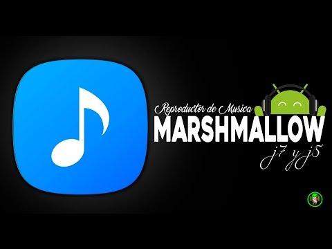 INSTALA REPRODUCTOR DE MUSICA DE SAMSUNG EN ANDROID 6.0.1  j7 y j5