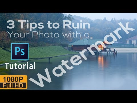 How to Remove Watermark in Photoshop CS6/CC  | Best Way to remove Watermark into 1 min