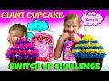 World's LARGEST CUPCAKE Challenge - Magic Box Toys Collector