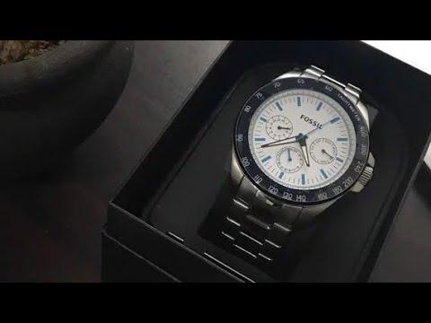 Fossil Watch BQ2240 Time set up