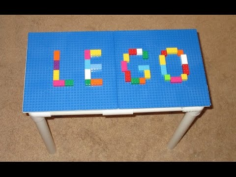DIY LEGO TABLE - PVC Pipe Projects