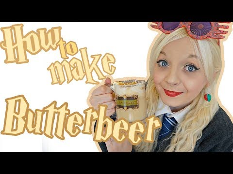 How to: Make Butterbeer DIY   the Luna diaries