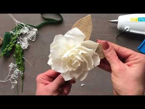 Boutonniere Craft Kit Tutorial