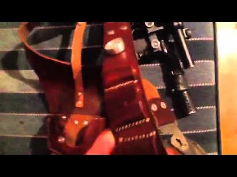 Han Solo belt / holster rig ANH , Todds Costumes
