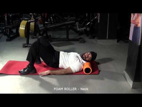 FOAM ROLLER - Neck