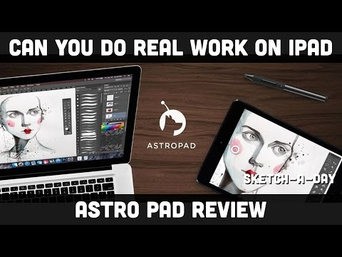 iPad Pro - Astropad Review: Photoshop on an iPad Pro