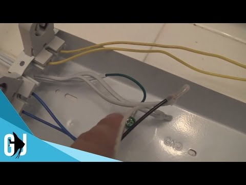 #400: How to Rewire T8/T12 Shop Light to LED - DIY Wednesday