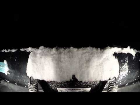 ATV snow plow wings