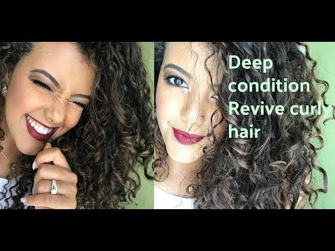 How to deep condition and revive dry, brittle curly hair. Curly hair series 3
