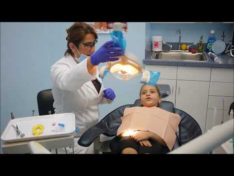 Kid's Dental check up and teeth cleaning appointment