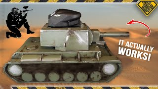 Download Homemade Paintball TANK Video