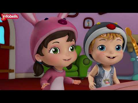 Brush Your Teeth Song | Good Habit Rhymes for Children | Infobells