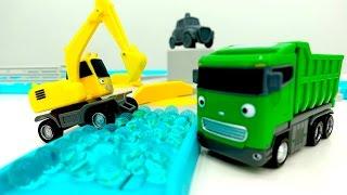 Coches para niños - Videos de juguetes - Camiones grandes - Camiones infantiles