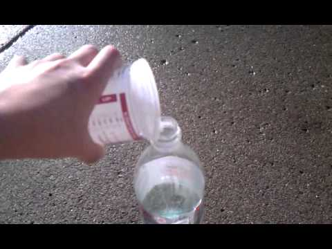fun, easy science experiment... FOAM VOLCANO