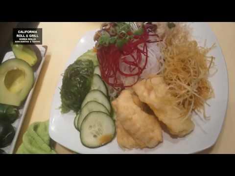 Salmon skin salad 연어 스킨 셀러드 / www.lvpop.com