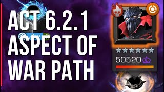 Act 6.2.1 Aspect of War Path - vs Sym Spiderman, Venom, Carnage, Venom the Duck, Venompool, Dormammu