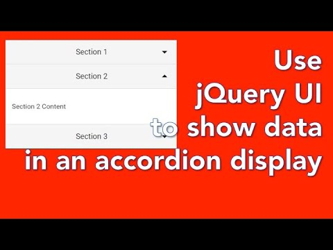 How to create a database website with PHP and mySQL 10 - format output with jQuery UI