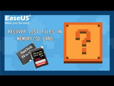 Memory SD Card Recovery - Recover Lost Files on Memory/SD Card