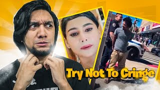 TRY NOT TO CRINGE CHALLENGE | Bangla Funny Video | Funny Viral Videos | Comedy | KaaloBador